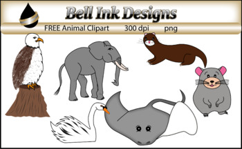FREE Animal Clipart.