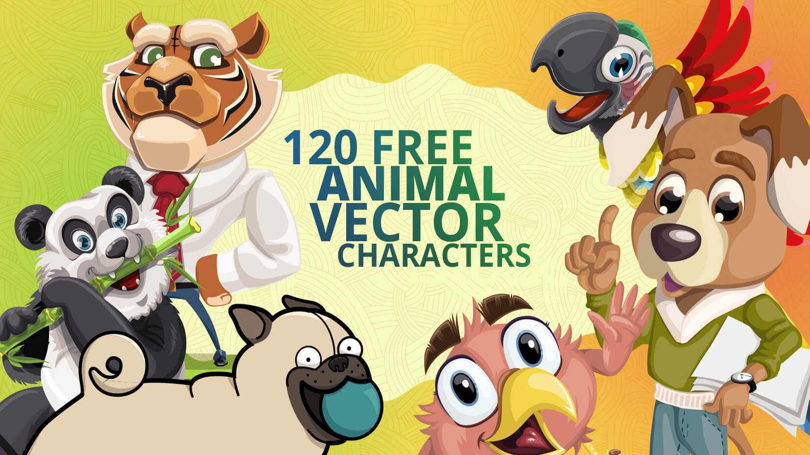 120+ Free Animal Vector Characters to Perk Up Your Projects.
