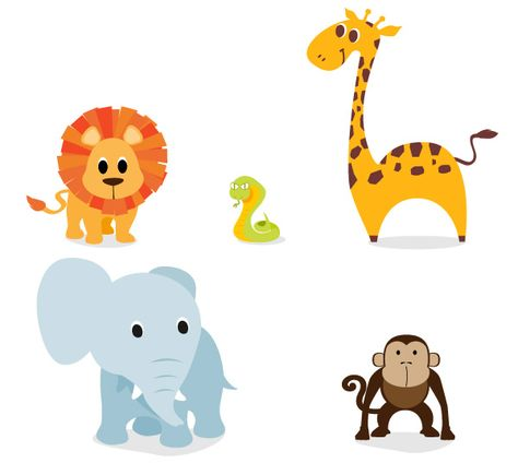 Free Cute, Vector Animal Graphics and Character Designs.