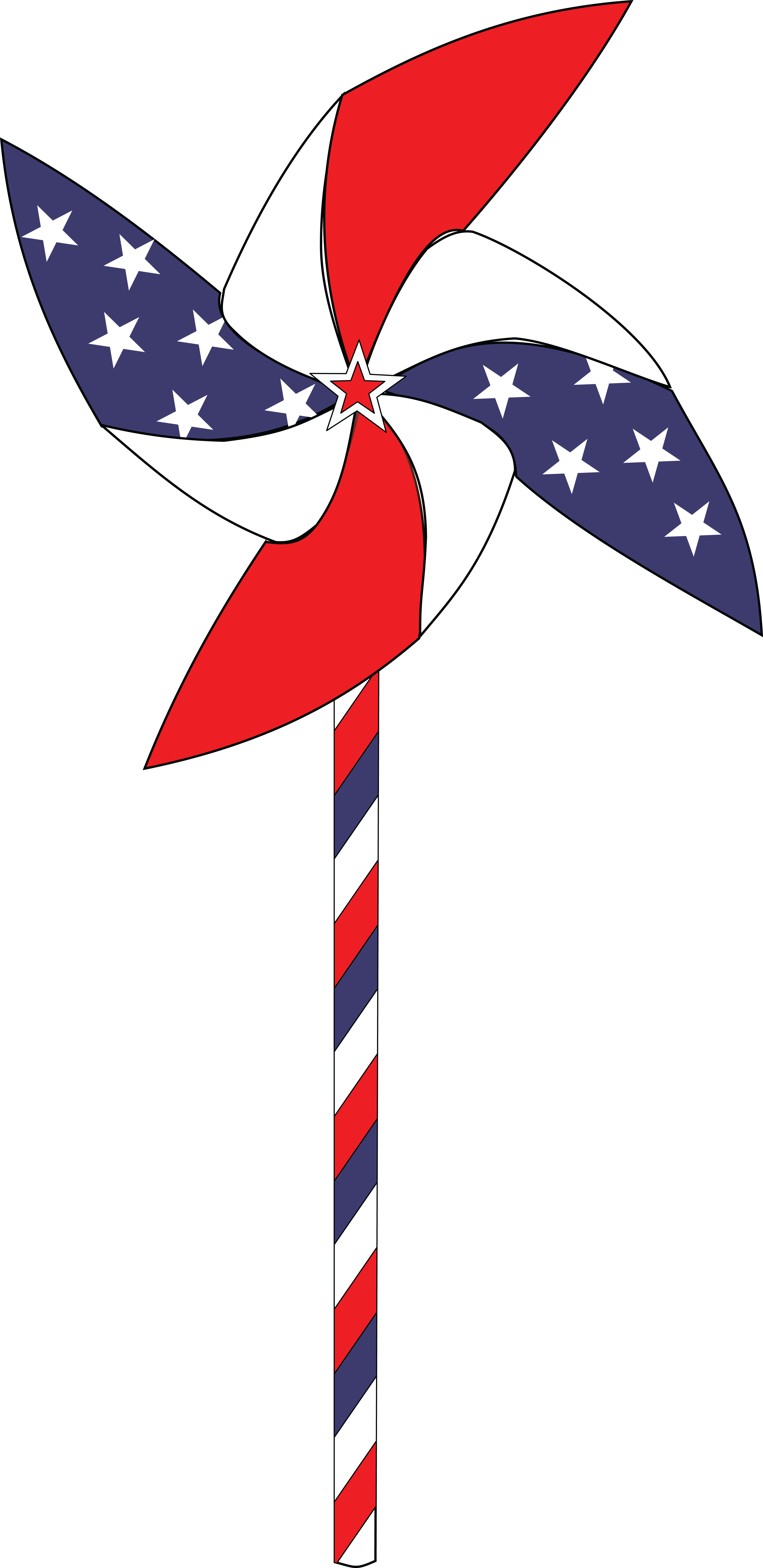 HD This Free Icons Png Design Of July 4th Pinwheel Animation.