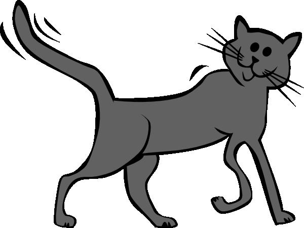 Cartoon Cat clip art (128382) Free SVG Download / 4 Vector.