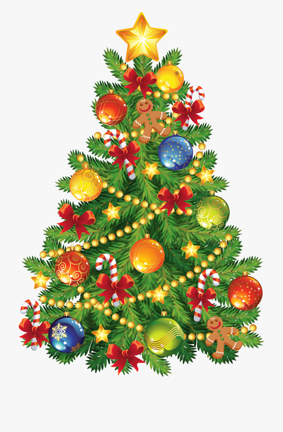 Animated Christmas Tree Cliparts Free.