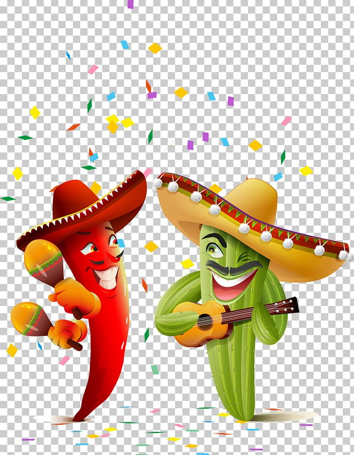 Mexican Cuisine Cinco De Mayo Illustration PNG, Clipart, Balloon.
