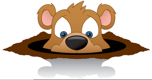 Groundhog Day Clipart Animated.