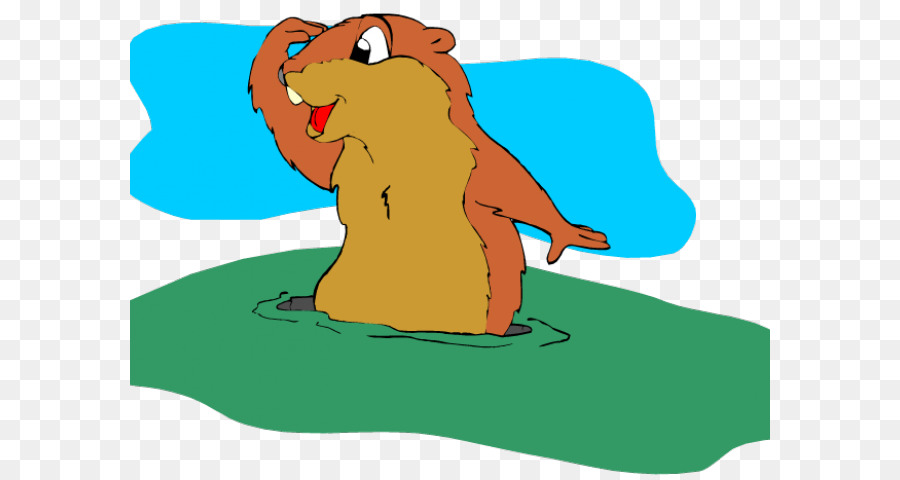 Groundhog Day png download.
