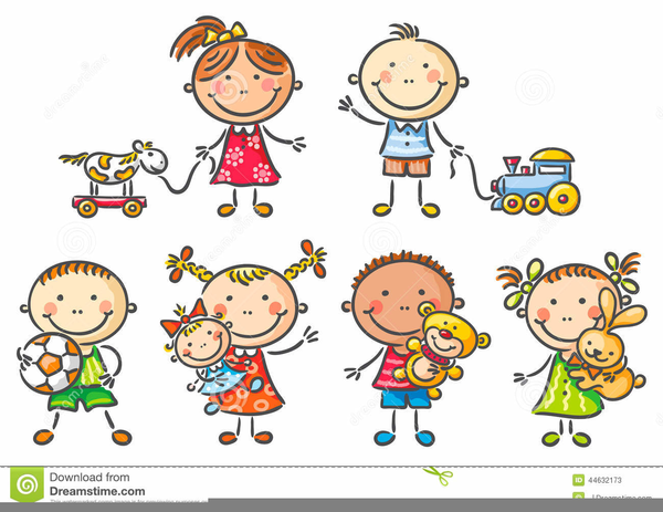 Free Animated Clipart Of Children Playing.
