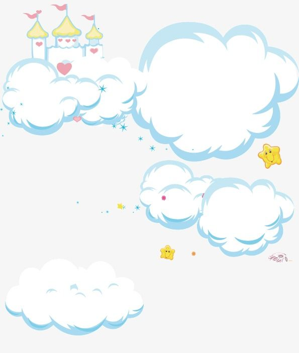 Cartoon Clouds, Clouds, Baiyun, Clouds PNG and Vector with.