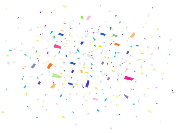 Confetti Desktop Wallpaper Animation Microsoft PowerPoint.