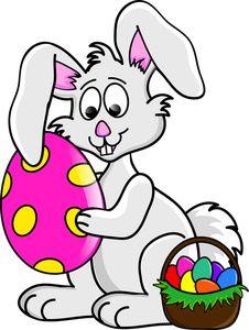 9613 Bunny free clipart.