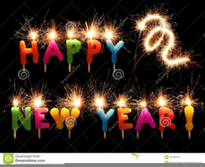 Free Animated Happy New Year Clipart PNG.