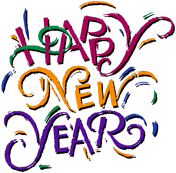 Happy New Year Free Clipart.