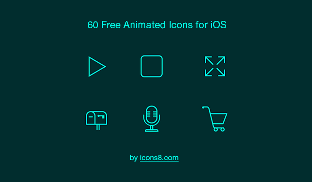 Animated Icons.