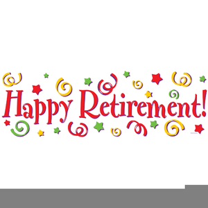 Retirement Animated Clipart.