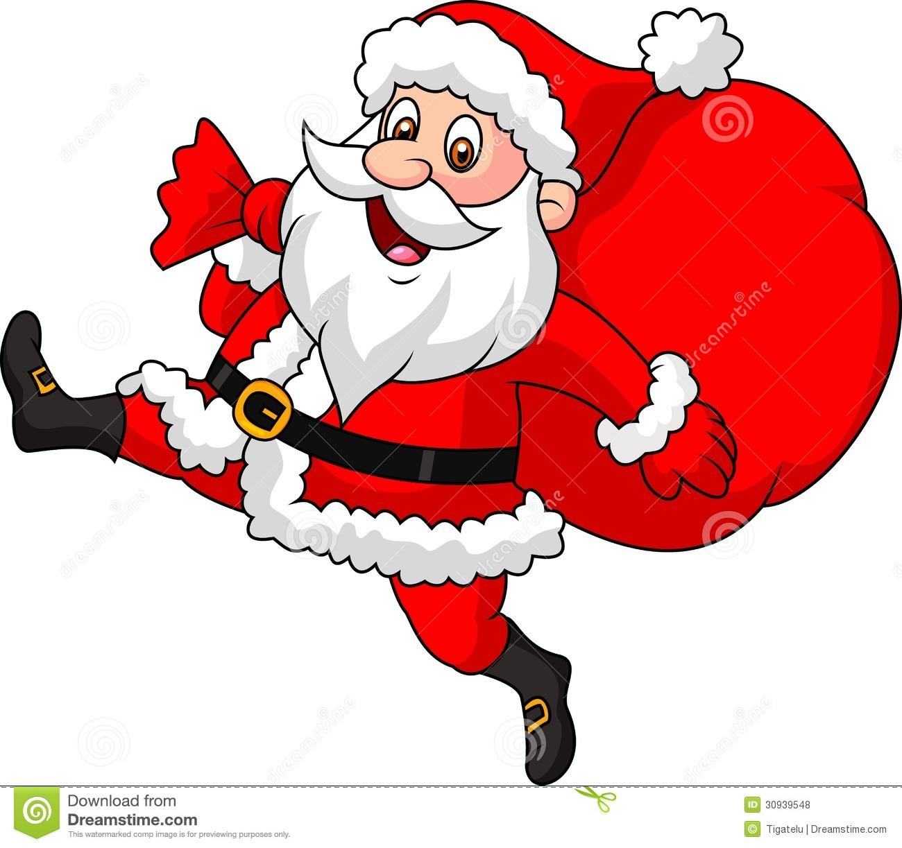 Santa Claus Clipart Animated.