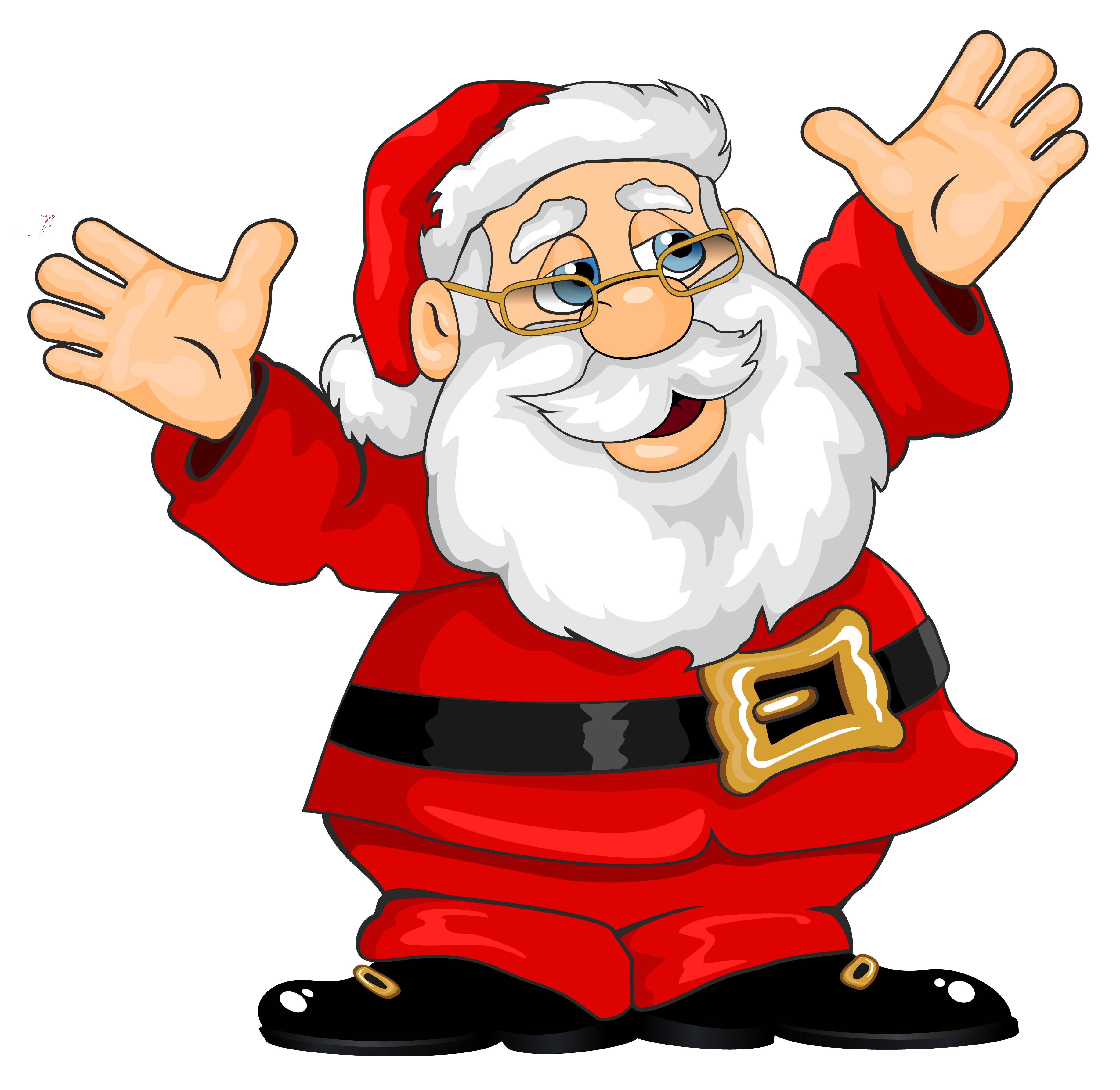 Santa Claus Clipart Free.