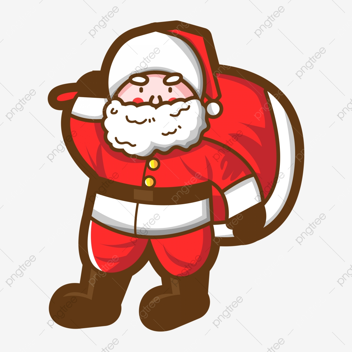 Santa Claus, Santa Clipart, Creative Christmas PNG Transparent.