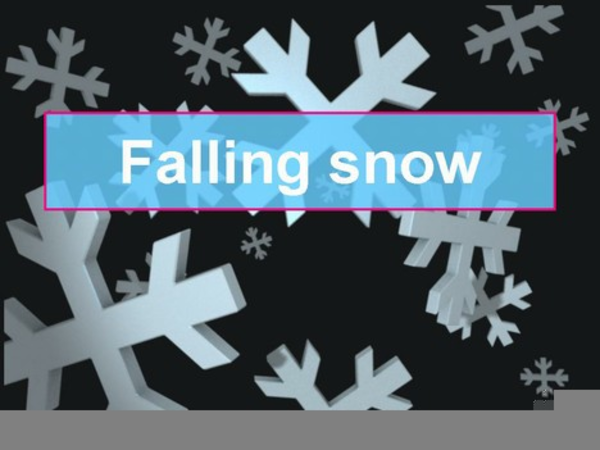 Free Animated Snowflake Clipart.