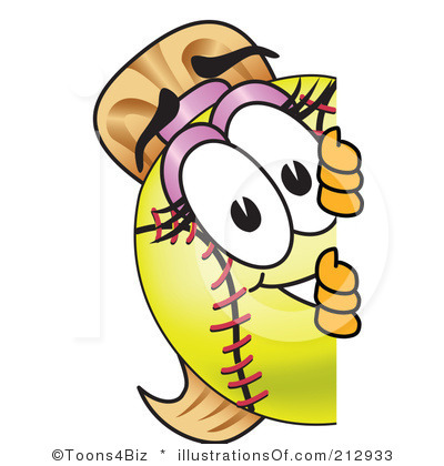Free Softball Clipart Printable Animated.