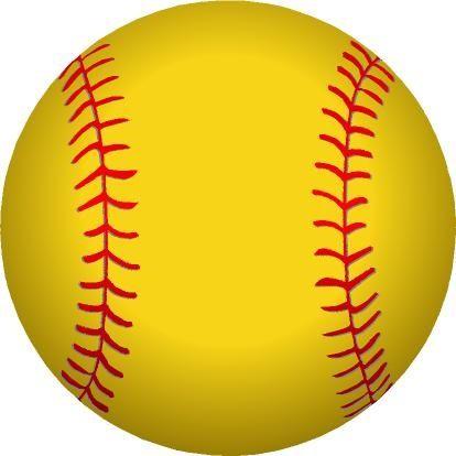 Animated softball.