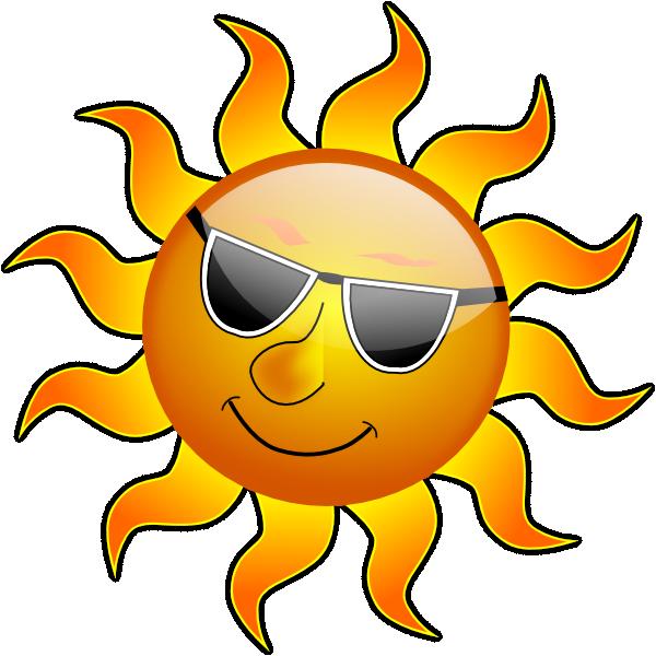 Summer Animated Clipart Smile Hi Sun.