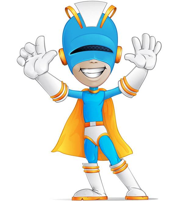 Free Animated Superhero Clipart - Clipground