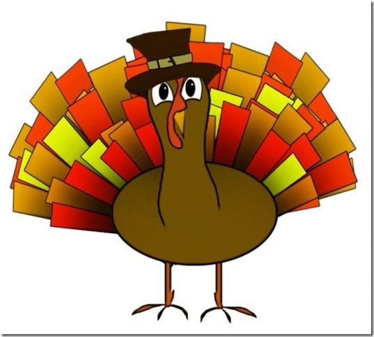 Free Animated Turkey Clipart.