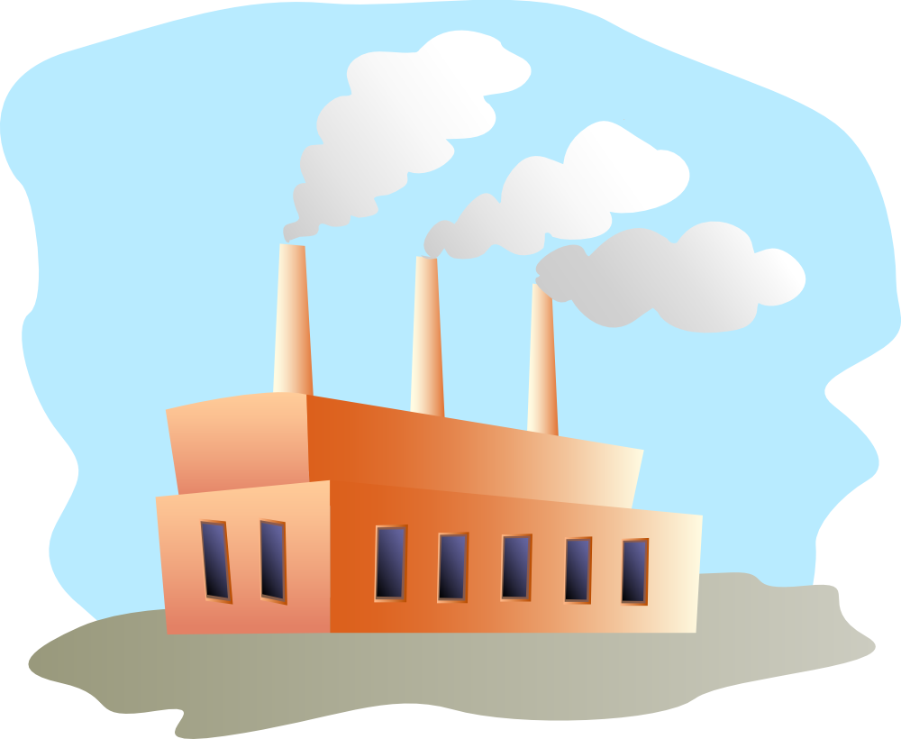 2281 Factory free clipart.