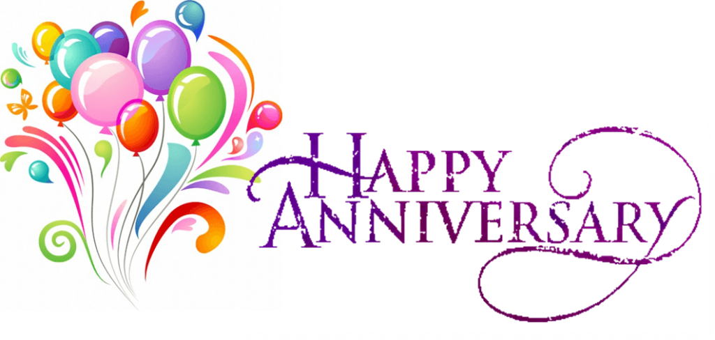 Happy Anniversary Free Clipart.