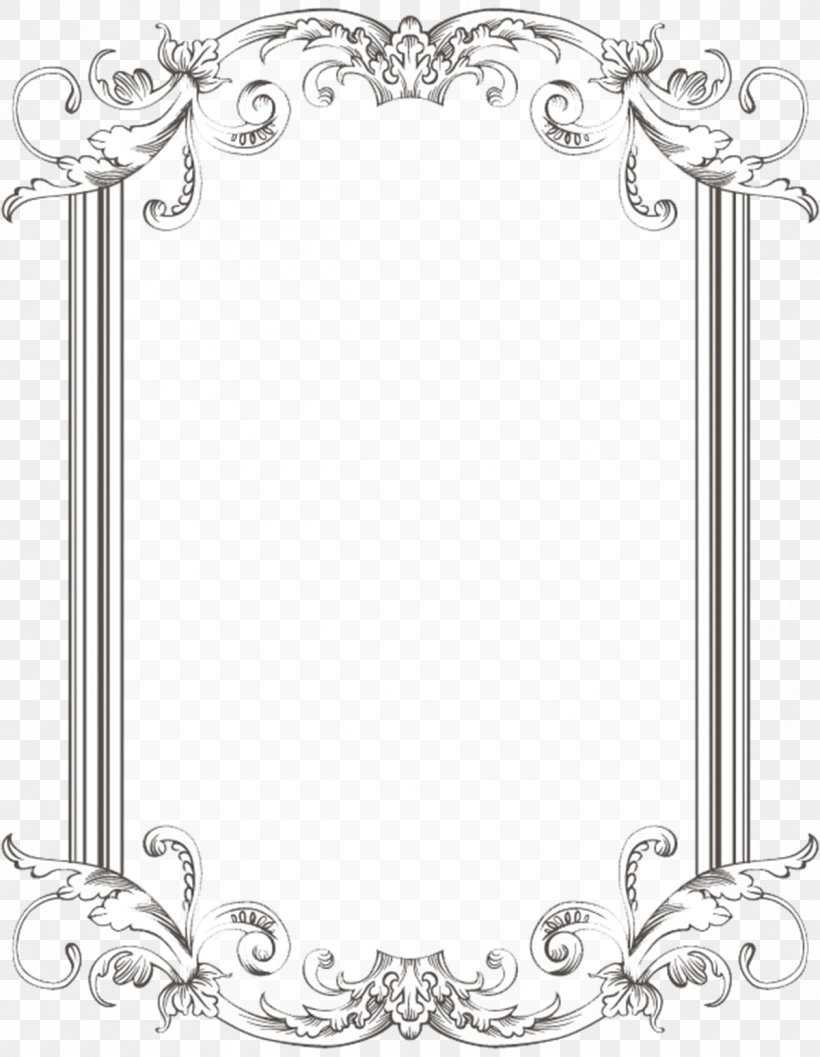Borders And Frames Picture Frames Clip Art, PNG, 1200x1548px.