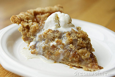 Apple Crisp Clipart.