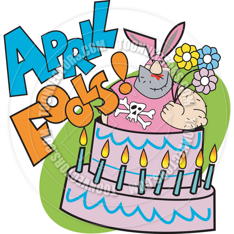 Library of april fools day birthday svg library download png.
