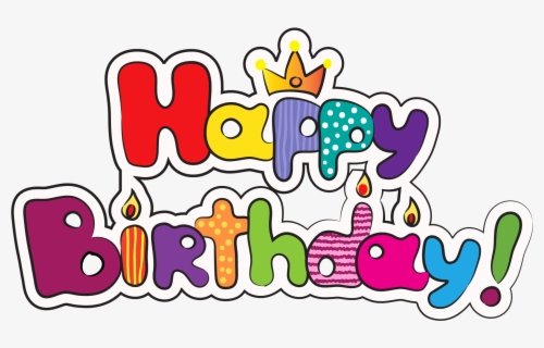 Free April Birthday Clip Art with No Background.