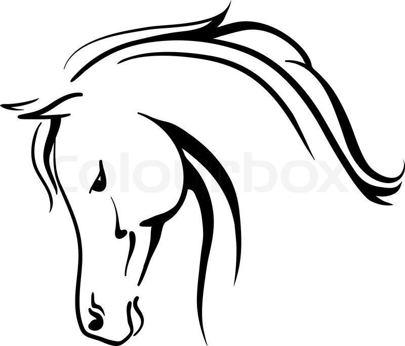 Arabian Horse Clipart.