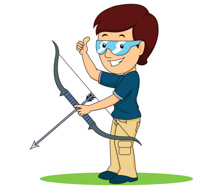 Free Archery Cliparts, Download Free Clip Art, Free Clip Art.