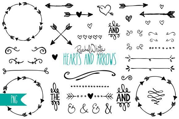 Free Arrow Clipart Arrows Heart Simpleminimalist Staggering 9.