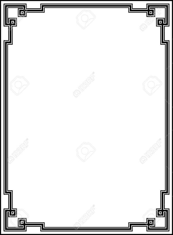 25+ Art Deco Borders Landscape Format Pictures and Ideas on Pro.