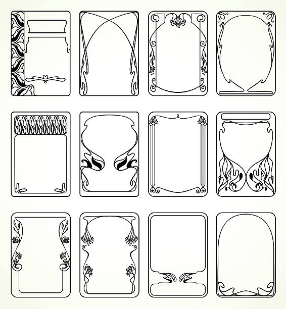 Free art deco clipart 7 » Clipart Station.