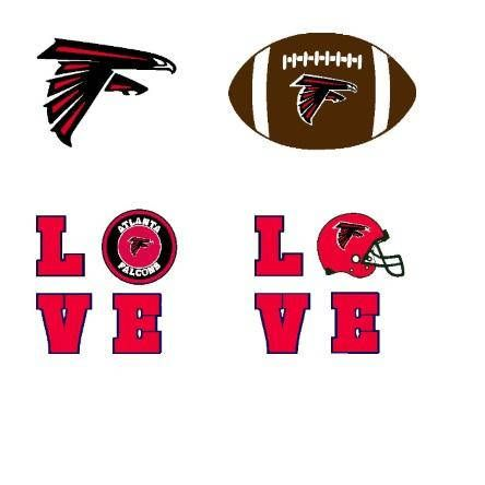 Atlanta falcons svg, Atlanta svg, falcons svg file for.