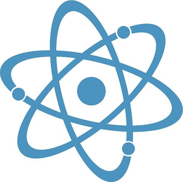 Atom Clipart Vector.
