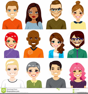Avatar People Clipart.