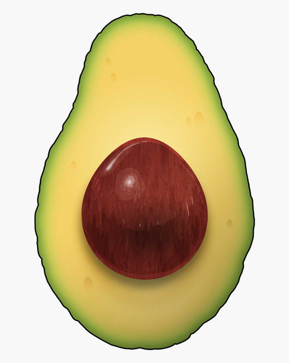 Avocado Clipart Png.