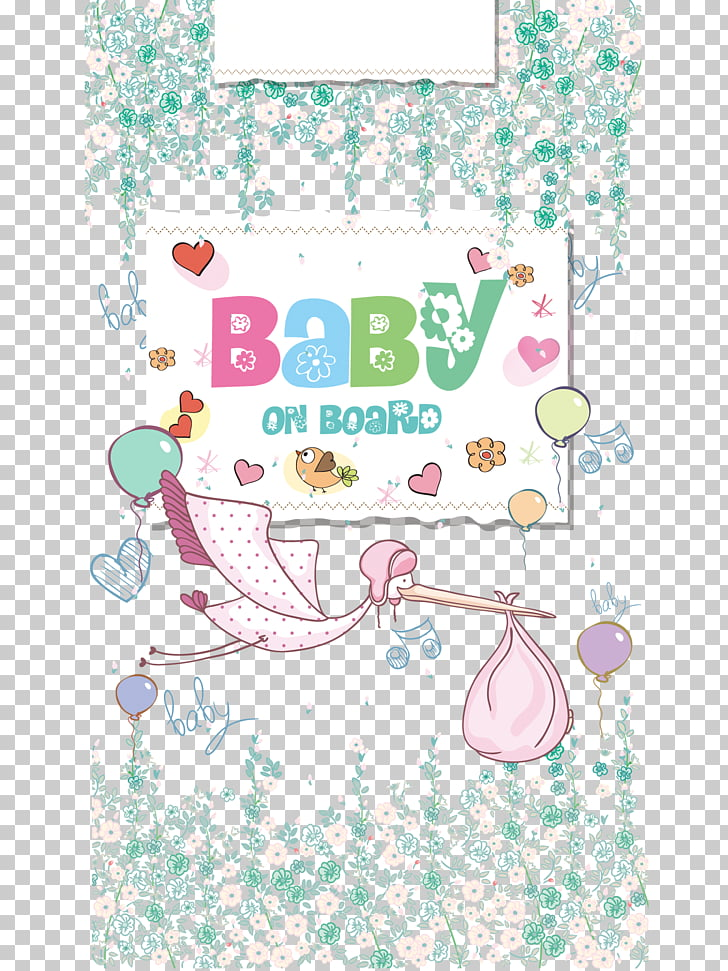 Poster Illustration, BABY background PNG clipart.