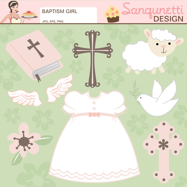 Free Baby Baptism Clipart Clipground