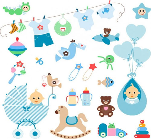 Free Baby Baptism Clipart.
