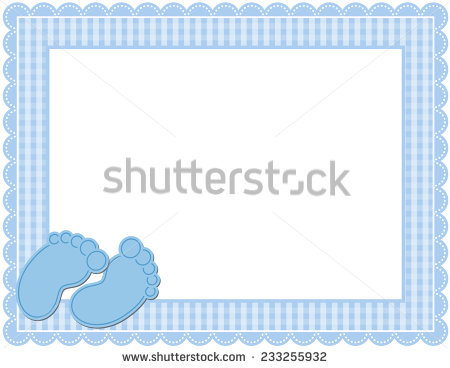 free baby clipart borders and frames #1