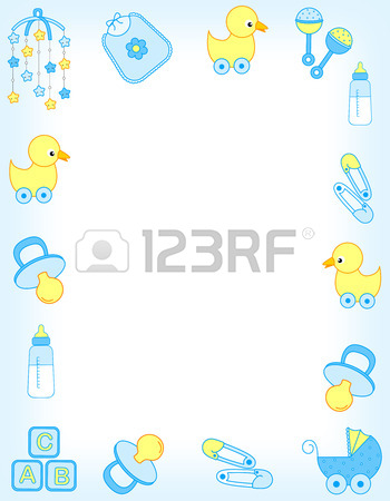 free baby clipart borders and frames #3
