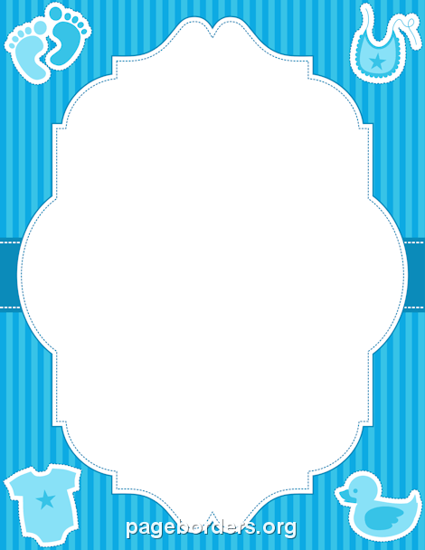 free baby clipart borders and frames - Clipground