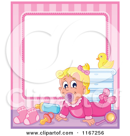 Free Baby Clipart Borders And Frames.