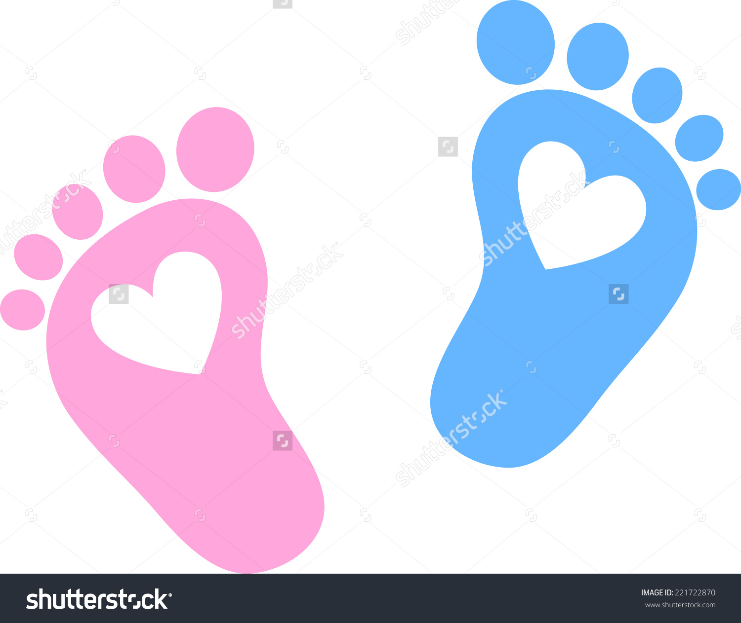 1094 Baby Feet free clipart.