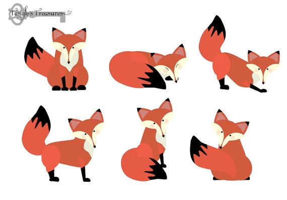 Baby fox clipart free images 3.